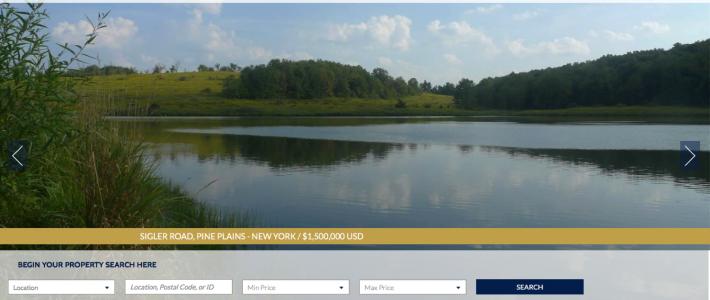 Heather Croner Real Estate Sotheby's International Realty Debuts Website