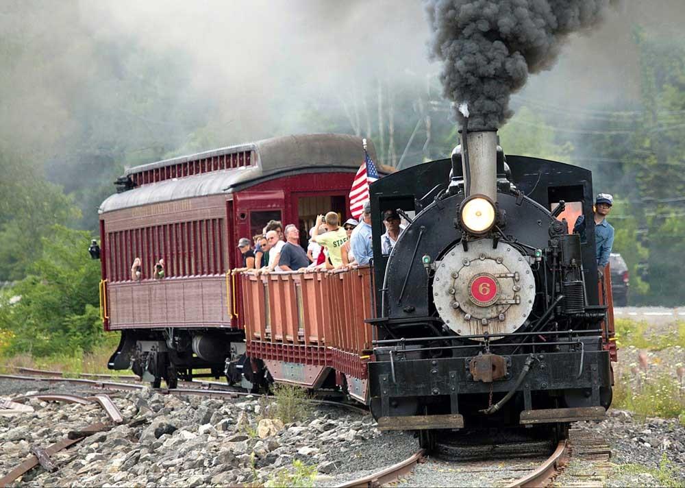 Train of the Catskill Mountain Railroad