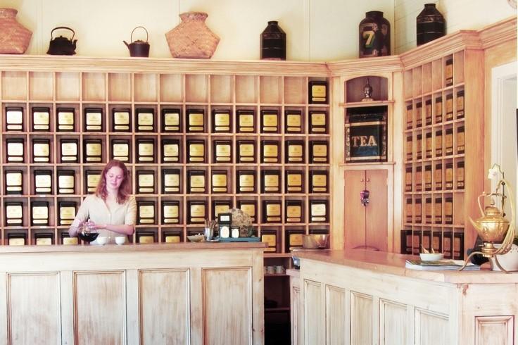 Inside Harney & Sons Tea Factory in Millerton, New York