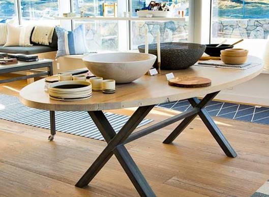 modern furniture on display at Meta44 home decor store in Millerton, New York