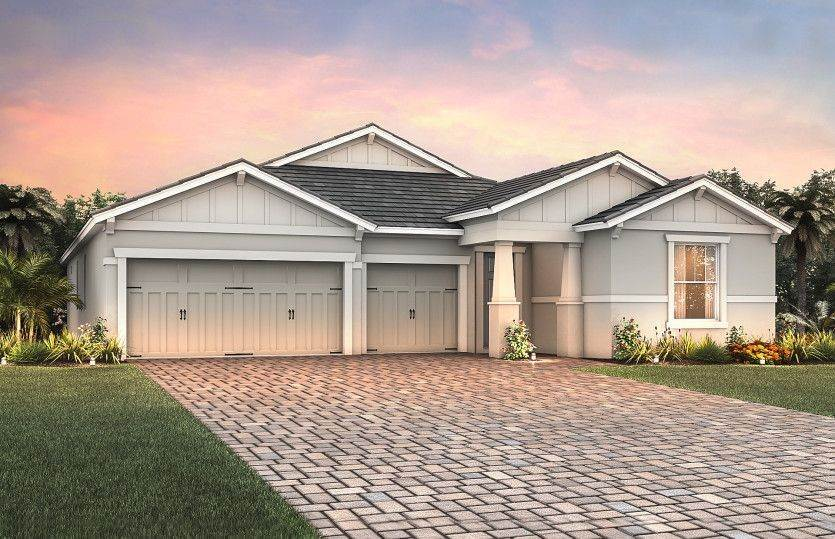 Single Family for Sale at Mallory Park At Lakewood Ranch - Creekview 11717 Blue Hill Trail Lakewood Ranch, Florida 34211 United States