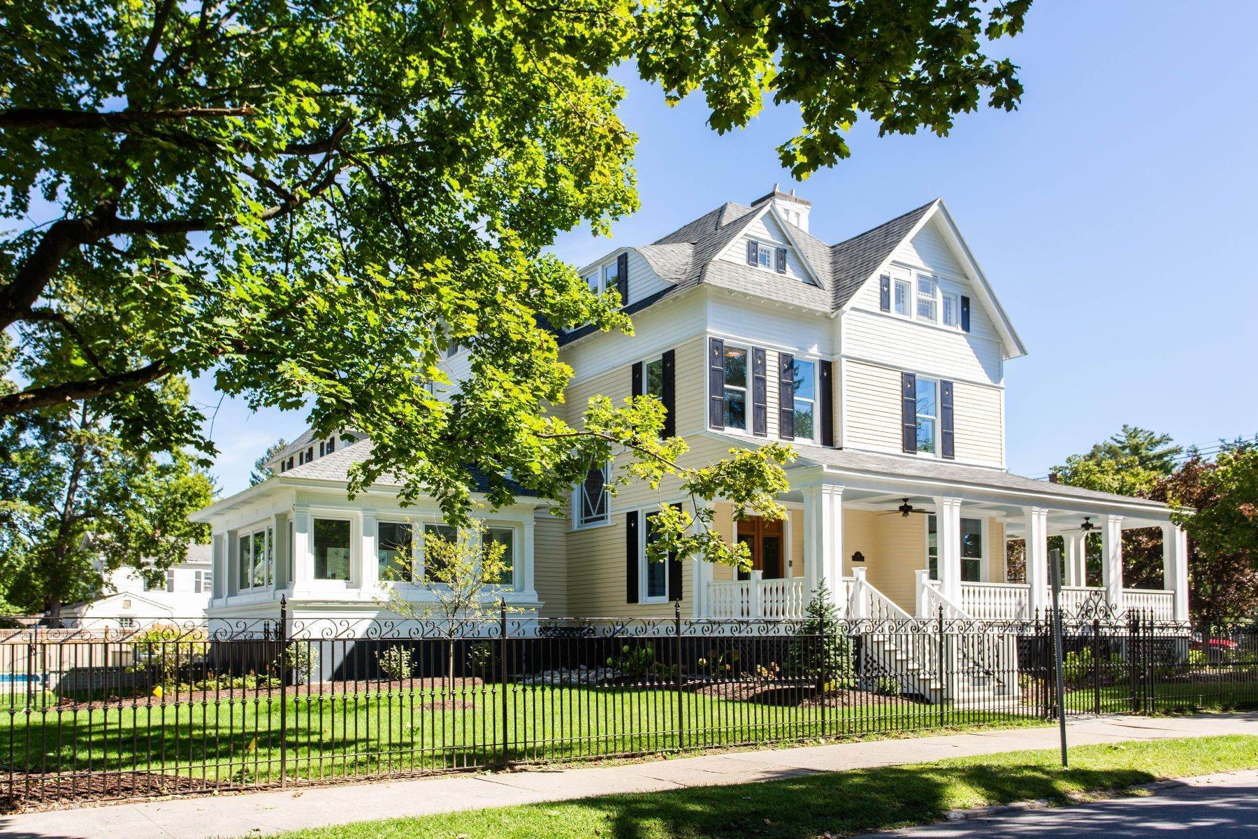 Single Family Homes for Sale at Renovated East Side Victorian 181 Phila Street Saratoga Springs, New York 12866 United States