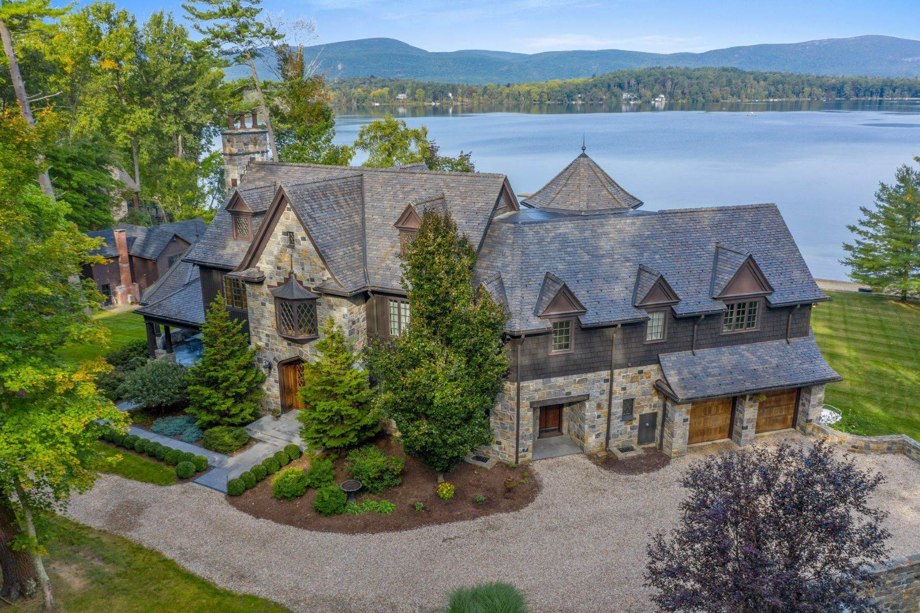 Single Family Homes for Sale at Once in a lifetime Twin Lakes Estate 102 South Shore Road Salisbury, Connecticut 06068 United States