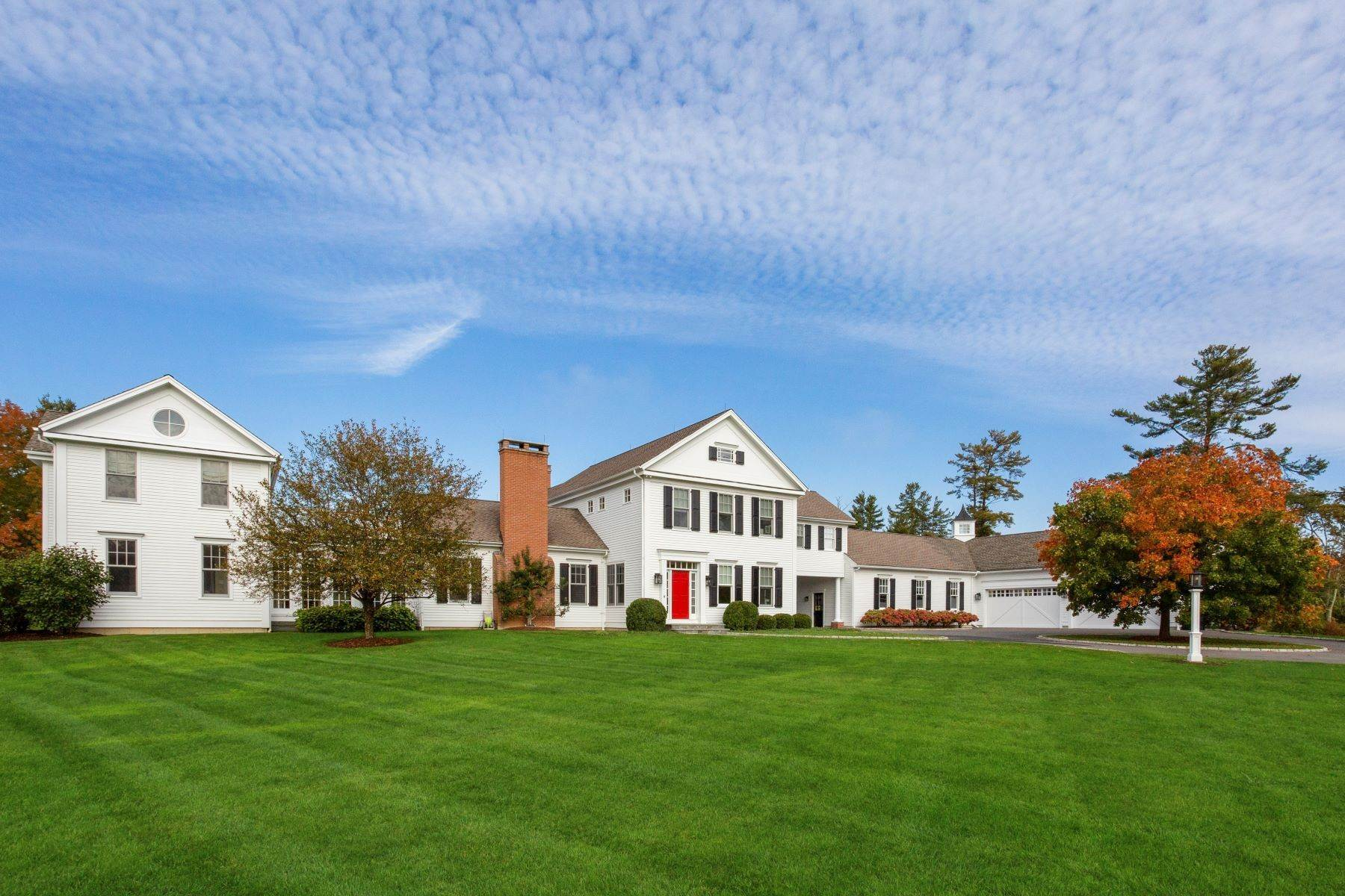 Single Family Homes for Sale at Country Retreat 8 Greystone Lane Salisbury, Connecticut 06039 United States